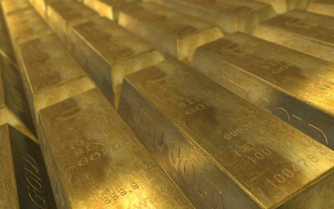 viele Goldbarren je 1kg